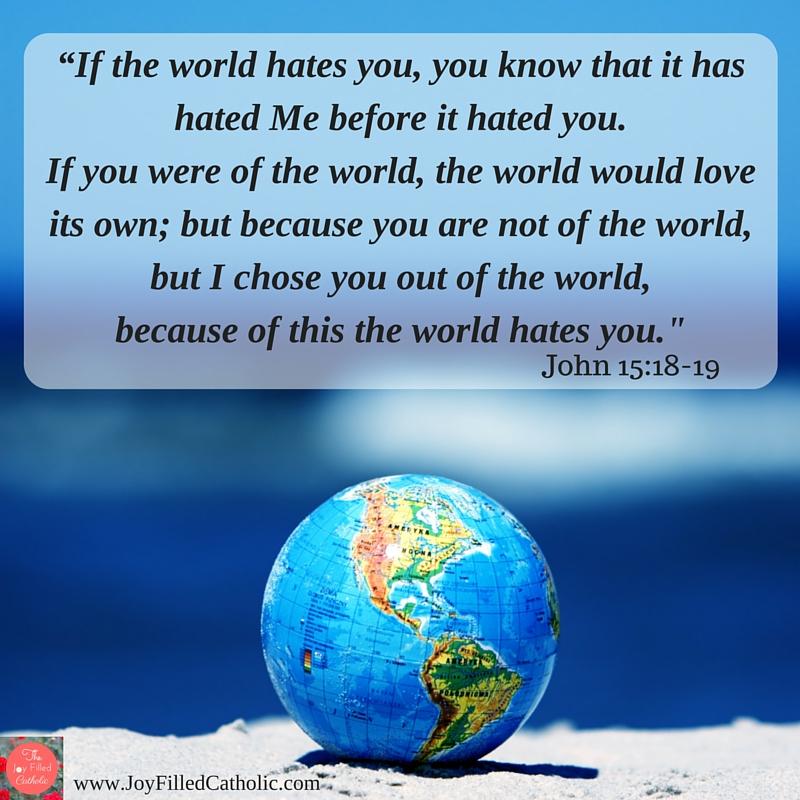John 15 18 19